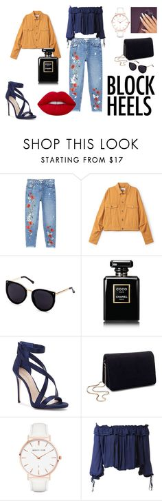 """""""party summer"""" by asiak19 on Polyvore featuring moda, MANGO, Chanel, Imagine by Vince Camuto, Miss Selfridge, Abbott Lyon, Dsquared2 i Lime Crime"""