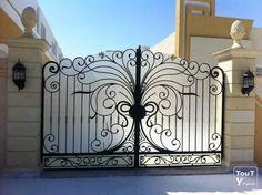 Image result for barre de portail exterieur
