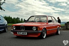 BMW E21, my dad had one similar colour to this, had to give it up when I was born, his favourite car.