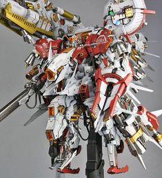 Tiefsturmer [Deep Striker] - Painted Build Modeled by Gundam Toys, Gundam Art, Robo Transformers, Mecha Suit, Strike Gundam, Gundam Astray, Gundam Wallpapers, Arte Robot, Gundam Custom Build