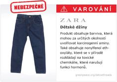 ZARA Children's Jeans containing traces of hazardous chemicals Zara Fast Fashion, Personalized Medicine, Endocrine Disruptors, Social Environment, Tommy Hilfiger Jeans, Zara Jeans, Hair Health, Mom Jeans, Calvin Klein