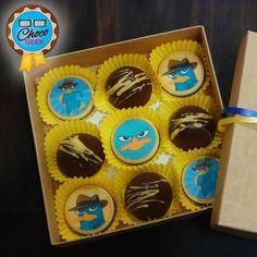Otro pedido personalizado para un regalo especial, esta vez al mejor estilo de Perry Platypus