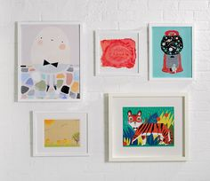 How to Display Your Kid's Artwork