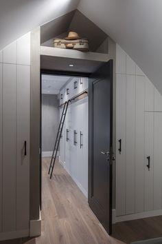 Farmhouse Renovation, Attic Renovation, Bedroom Loft, Home Decor Bedroom, Attic Conversion, Home Projects, Architecture Design, Locker Storage, Living Spaces