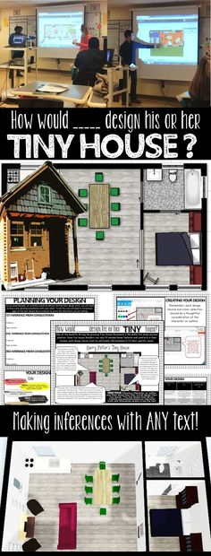 Tiny House Design STEM Project and other STEM project for English Language Arts class!