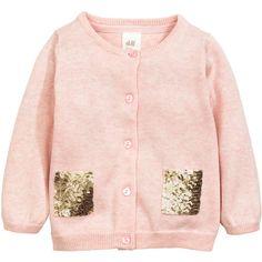 Cotton Cardigan $17.99 (140 GTQ) ❤ liked on Polyvore featuring tops, cardigans, cotton cardigan, pink top, button cardigan, cardigan top and pink cardigan