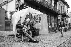 Streets of Buesno Aires, San Telmo quarters