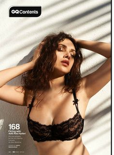 Aditi Rao Hydari photoshoot in GQ Magazine May 2015.