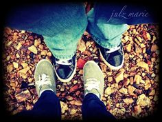 Picture of his/her shoes :) just like this!