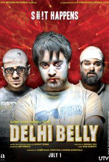 Another Bollywood movie - Delhi Belly. Quite shocking to watch such a modern dirty storyline in the theaters, and if the audience wasn't shocked at least I was. Great fun though!