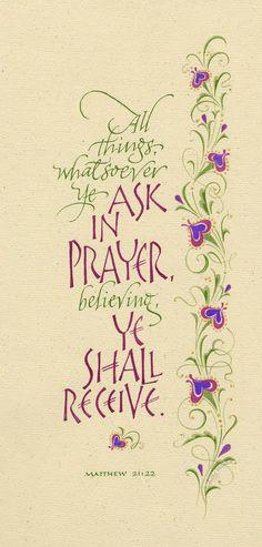 Matthew 21:22, Holly V. Monroe
