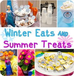 Get Away Today Vacations - Official Site - Frozen Inspired Party Food - Winter Eats and Summer Treats!