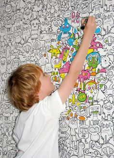 the architecture of early childhood Find cool coloring sheets and print them on A3 paper and post on wall for students to color
