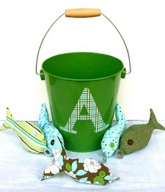 Make a Homemade Perfect Gift for Little Boys (or Girls) - Home Stories A to Z - fish in a bucket