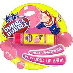 Dubble Bubble Lipbalm Pink Lemonade - Lekkere zachte en zoete lippenbalsem met roze limonade smaak.