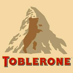 The Toblerone logo has a bear hidden in it. | 27 Things You Will Never Look At The Same Way Again