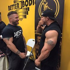 Someone talking to Flex Lewis