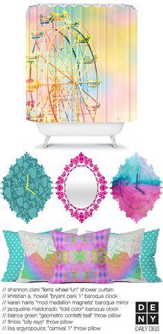 Pastel Ombre Decor | Daily Digs with #shannonclark @Khristian Torres A. Howell @Karen Jacot Swartz Harris/-ize on design @Lisa Phillips-Barton Argyropoulos