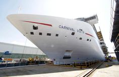 Monfalcone, the launch of Carnival Vista - Pictures - The Small