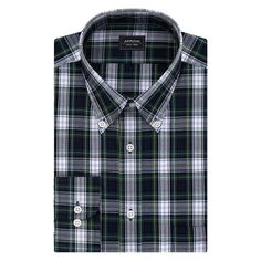 Big & Tall Arrow Classic-Fit Wrinkle-Free Poplin Dress Shirt, Men's, Size: 18.5-32/33, Ovrfl Oth
