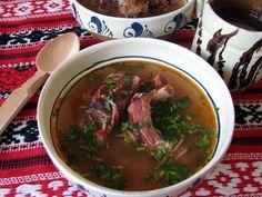 CIORBA CU AFUMATURA, Poza 3 Soup, Beef, Cooking, Ethnic Recipes, Travel, Meat, Kitchen, Viajes, Destinations
