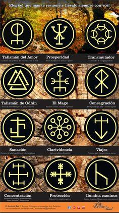 Talismanes Rúnicos / Runas talismanicas / Colgantes. – Arcón de Rad