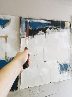 Less control is often better In the studio. #artistspace #artiststudio #artstudio #artspace