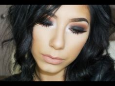 Black Smokey Eye | Kat Von D Shade & Light Eye Palette - YouTube