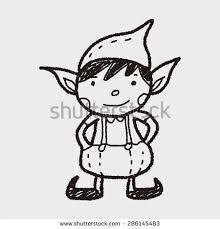 """Képtalálat a következőre: """"elf vector"""" Doodle, Christmas Elf, Hello Kitty, Snoopy, Clip Art, Drawings, Fictional Characters, Ideas, Dibujo"""