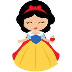 Disney Princess Babies, Disney Princess Snow White, Baby Princess, Baby Snow White, Baby In Snow, Disney Clipart, Cute Clipart, Cute Disney, Disney Art