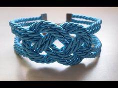 DIY Pulsera nudo marinero. Sailor knot bracelet - YouTube