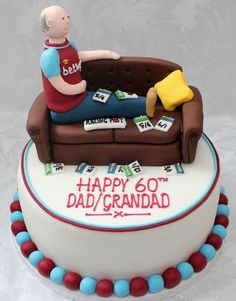 Dad Birthday, Birthday Cake, West Ham Fans, Cake Design Inspiration, Blowing Bubbles, Creative Cakes, Jessie, Cake Ideas, Birthdays