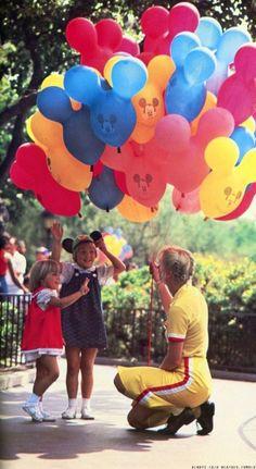 vintage disney balloons