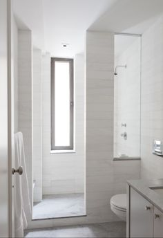 glass sidelight at shower
