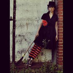 Adrienne Wilkinson #WitchingHour Pic by Scott Bradley of PulseStudios, Inc. #HalloweenInspiredDarkWhimsy #Boo  #AdrienneWilkinson