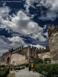 castle in Thessaloniki, Greece Travel Around The World, Around The Worlds, Greek Beauty, Crete Greece, Thessaloniki, Macedonia, Greece Travel, Countryside, Tourism