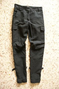 Ann Demeulemeester Archive - Ann Demeulemeester Women's Bondage Pants - StyleZeitgeist