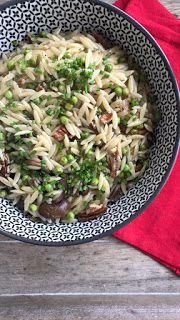 Orzo, I Foods, Pasta Recipes, Risotto, Ethnic Recipes