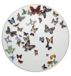 Vista Alegre. Incréible vajilla desde Portugal: fina y de calidad.  Plato Presentacíon Lacroix Butterfly P. | Vista Alegre