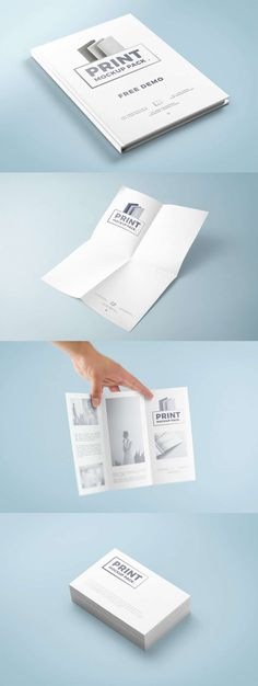 Print Mockup Pack Free Mockup Templates, Business Card Mock Up, Ui Kit, Packing, Author, Personalized Items, Cards, Bag Packaging, Writers