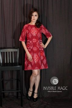 Indonesia Ikat Dress