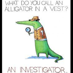 alligator kid humor