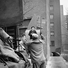 Vivian Maier  Self-Portrait, New York, February 3, 1955.