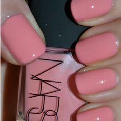 Nars Trouville – Seashell pink ♥love this color! Nars Trouville – Seashell pink ♥love this color! Fancy Nails, Love Nails, How To Do Nails, Fabulous Nails, Gorgeous Nails, Pretty Nails, Nars Nail Polish, Nail Polish Colors, Pink Polish