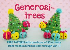 Mochimochi Land « Generosi-trees Pattern FREE with $5 purchase!