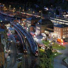 Miniatur Wunderland Hamburg / Germany - The world largest model train (13 kms of model train tracks)