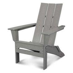 POLYWOOD® Modern Folding Adirondack Chair