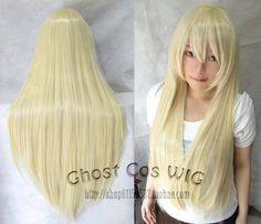 Purchase Women Fashion Long straight Cosplay Fashion Wig heat resistant resistant Hair Full Wigs Pale gold from QingdaoMegasaveInternationalCO on OpenSky. Share and compare all Beauty. Cosplay Hair, Cosplay Anime, Cosplay Wigs, Cheap Cosplay, Casual Cosplay, Cosplay Ideas, Wig Styles, Curly Hair Styles, Wig Hairstyles