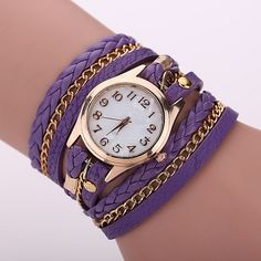 Leather Strap Quartz Watches Gold Fashion Leather Bracelet Women Dress Watches Reloj Mujer 2015 Hot Sale Relogio Feminino BW1071-in Fashion Watches from Watches on Aliexpress.com | Alibaba Group