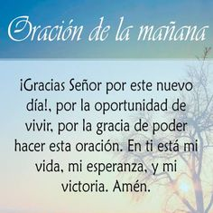 Oración de la mañana Prayer Images, Harley Davidson, Beautiful Prayers, Healing Words, Pretty Quotes, Morning Prayers, Lord And Savior, Quotes About God, Dear God